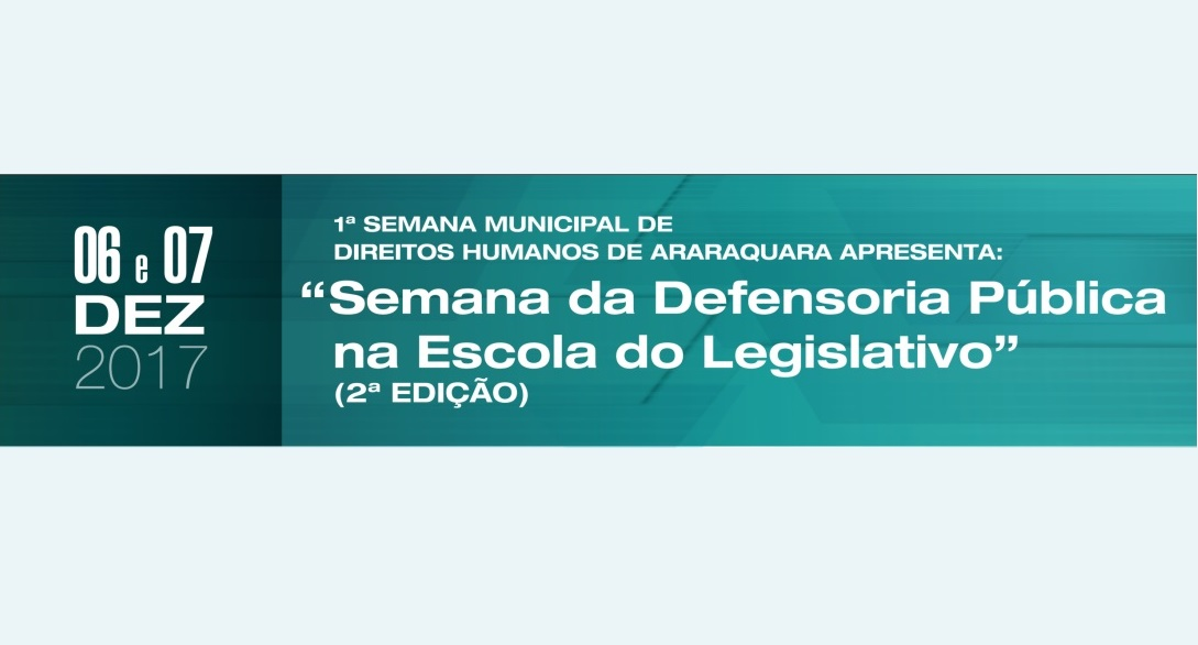 Semana da Defensoria Pública na Escola do Legislativo